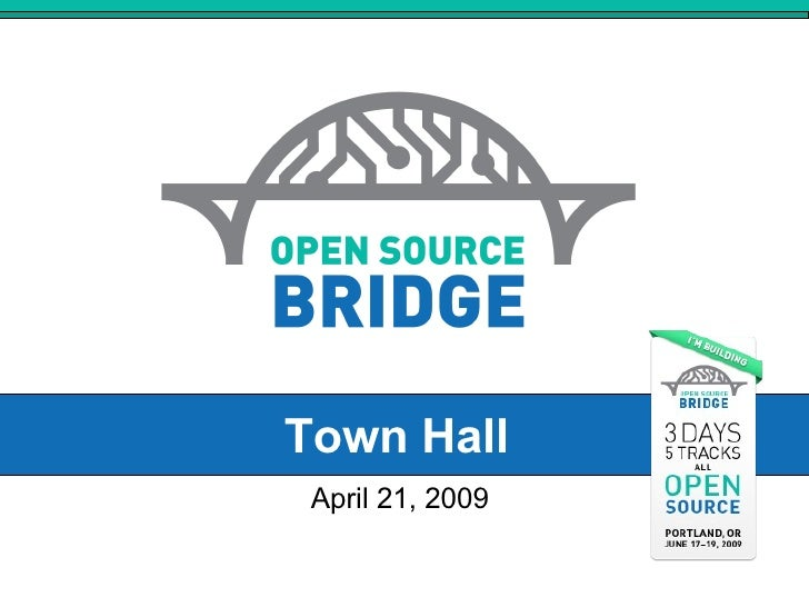 Town Hall April 21, 2009