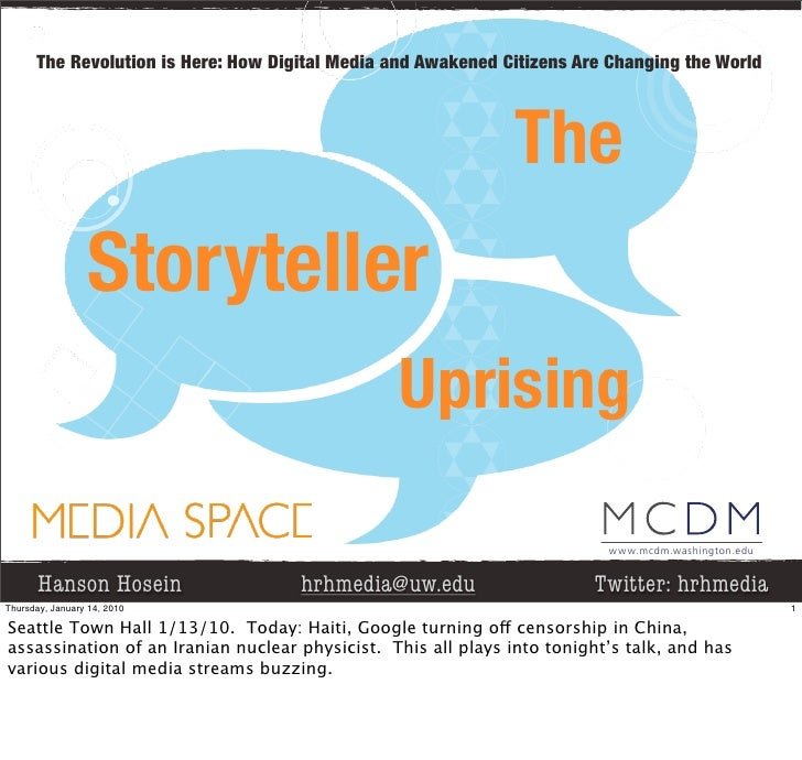 The Revolution is Here: How Digital Media and Awakened Citizens Are Changing the World                                    ...