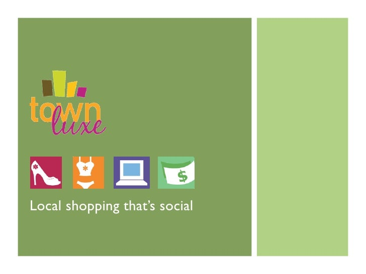 Local shopping that's social