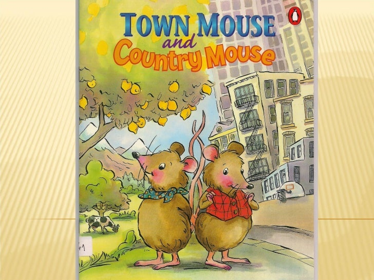 town mouse and country mouse story pdf