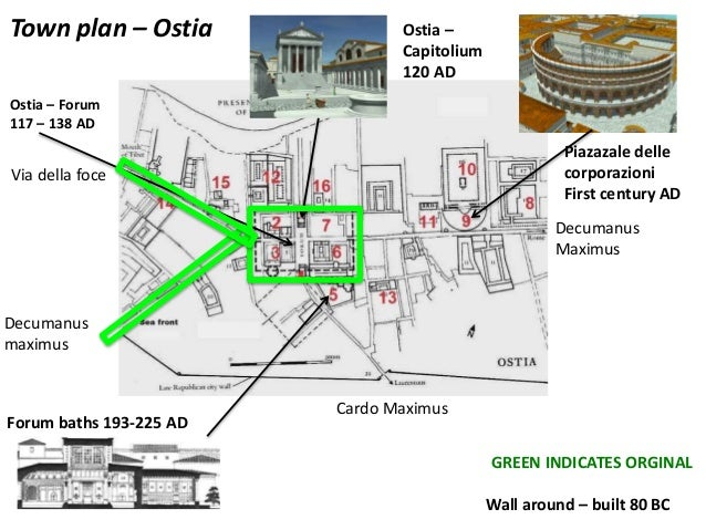Unit 02e Roman Architecture And Town Planning