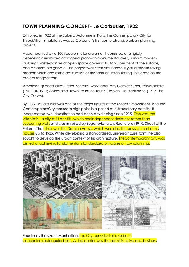 TOWN PLANNING CONCEPTS PDF DOWNLOAD - Top Pdf