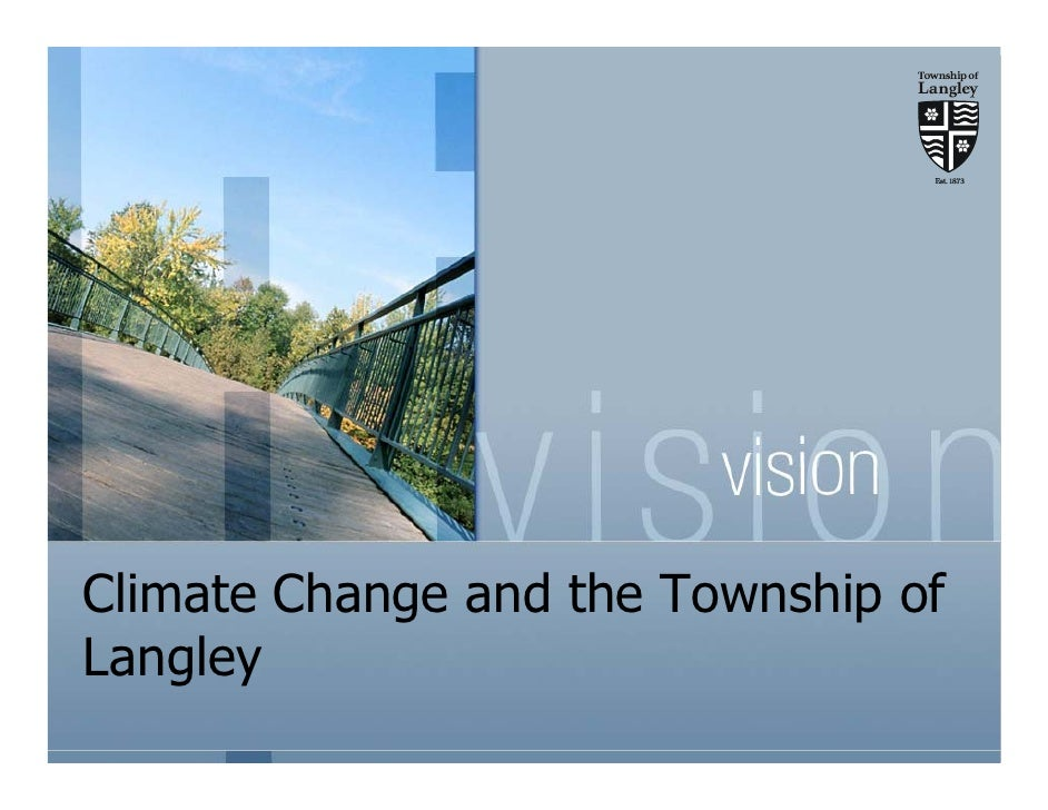 Climate Change and the Township of Langley
