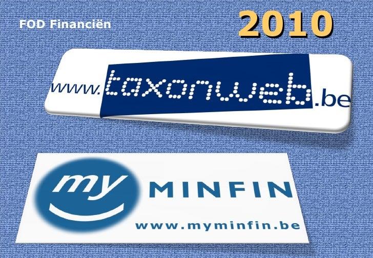 FOD Financiën 2010