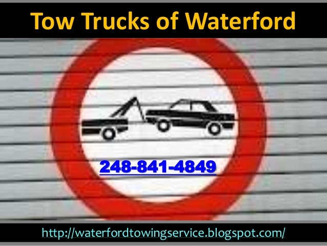 http://waterfordtowingservice.blogspot.com/ 248-841-4849 Tow Trucks of Waterford