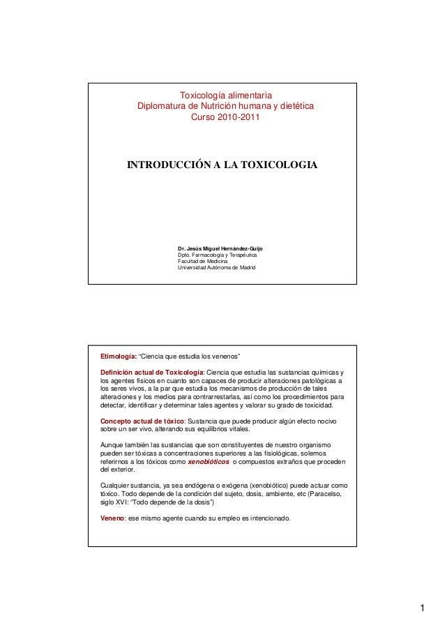 1 Dr. Jesús Miguel Hernández-Guijo Dpto. Farmacología y Terapéutica Facultad de Medicina Universidad Autónoma de Madrid IN...