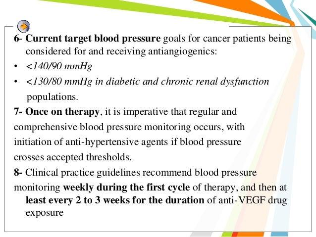 • Management of hypertension