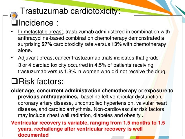 MANAGEMENTOnce significant cardiac dysfunction is demonstrated,  molecularly targeted therapy should be interrupted and  a...