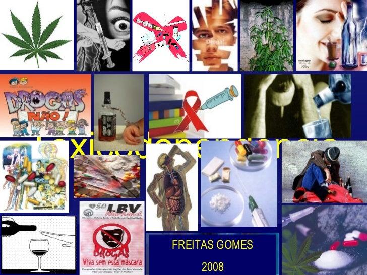 Toxicodependência FREITAS GOMES 2008