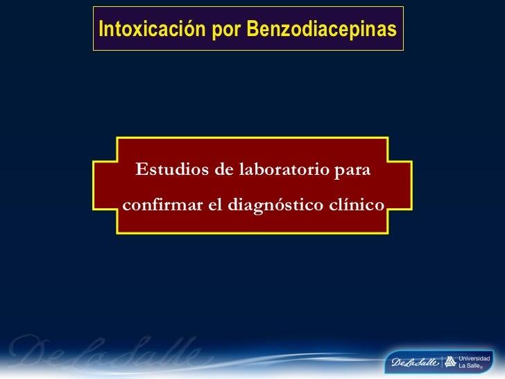 Intoxicacion por benzodiacepinas