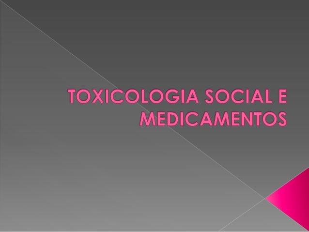 """  Área da toxicologia que estuda os efeitos nocivos decorrentes do """"uso não medico"""" e nem terapêutico de fármacos e droga..."""