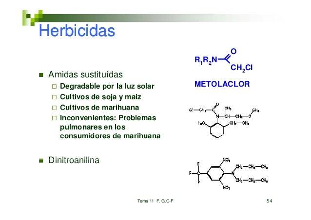 Herbicidas                                                      O                                           R 1R 2 N      ...