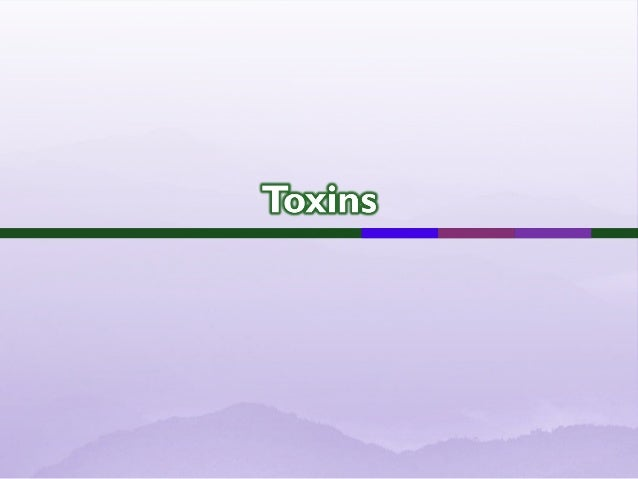  Toxins are bacterial products that directly harm tissue or trigger destructive biologic activities.  Toxin and toxin-li...
