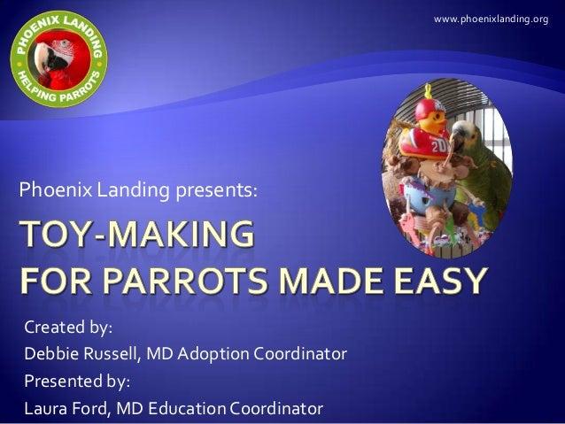 www.phoenixlanding.orgPhoenix Landing presents:Created by:Debbie Russell, MD Adoption CoordinatorPresented by:Laura Ford, ...