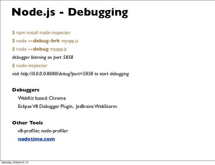 Node js, toy or power tool?
