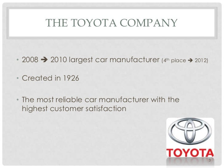 toyota company analysis Analyze toyota motor corp ltd ord (tm) using the investment criteria of some of the greatest guru investors of our time.