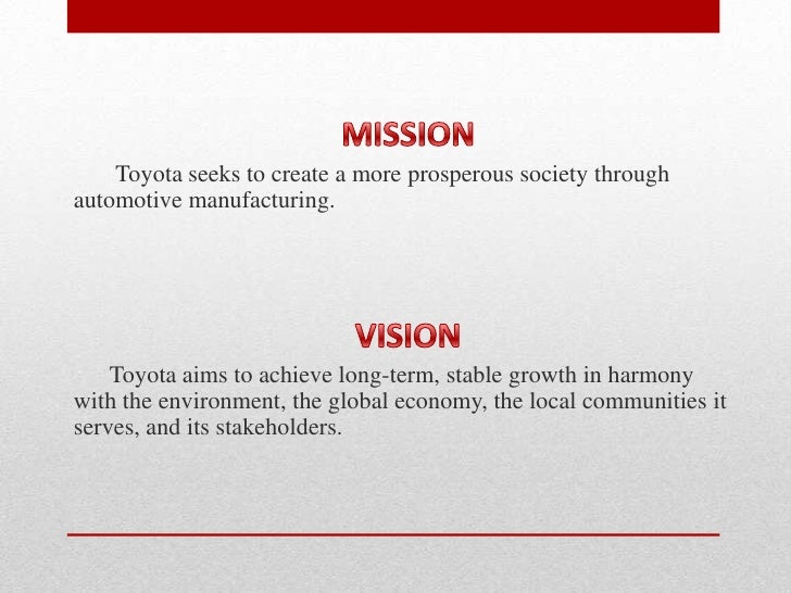 Free Essay: Toyota Marketing Strategy