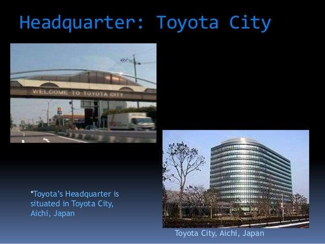 toyota corporation Toyota motor corporation (japanese: トヨタ自動車株式会社, hepburn: toyota jidōsha kk, ipa: , english: / t ɔɪ ˈ oʊ t ə /) is a japanese multinational.