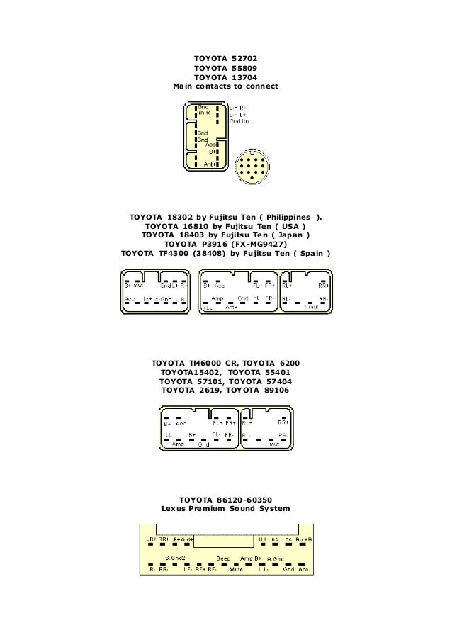 toyota 4 638?cb\=1407969044 86120 14350 fujitsu ten radio diagram,ten \u2022 edmiracle co  at crackthecode.co