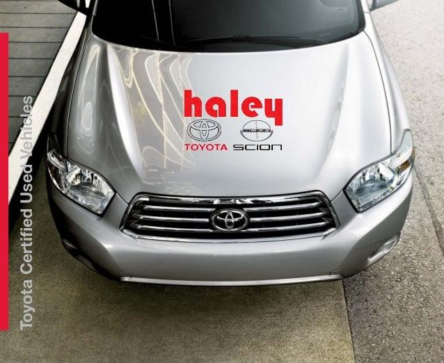 Haley Toyota Roanoke >> Toyota Certified Used Vehicles - Haley Toyota Roanoke