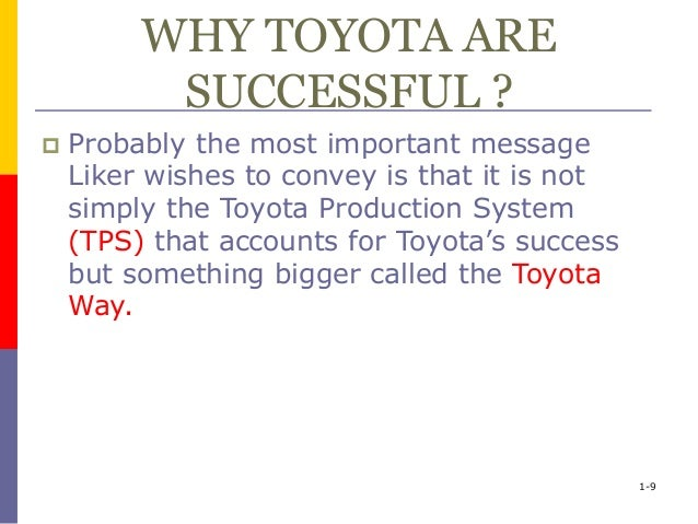 globalization and toyota Essays - largest database of quality sample essays and research papers on toyota globalization.