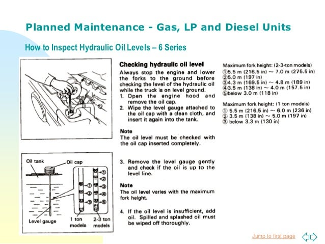 Forklift Planned Maintenance By Toyota Lift Of Minnesota
