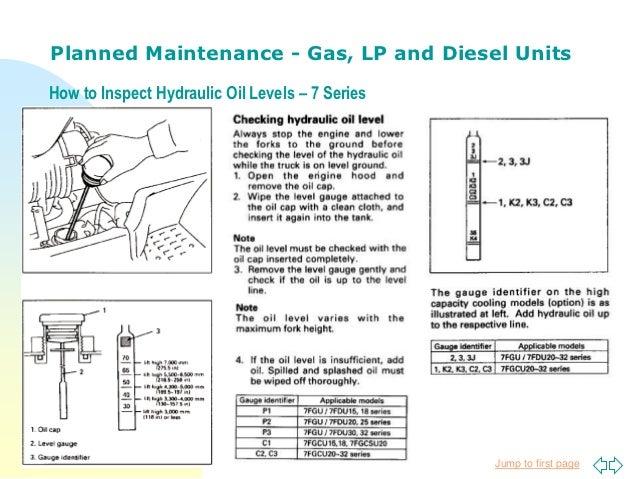 forklift planned maintenance by toyota lift of minnesota rh slideshare net Parts Yale Diagram Fork Lift 130448101 Fork Lift Diagram