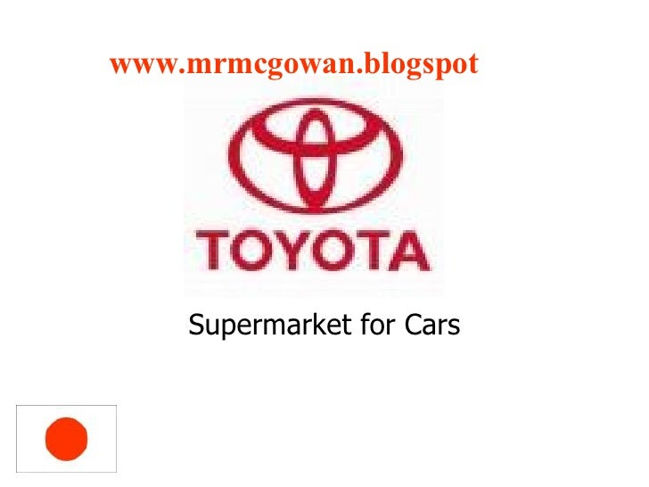 Supermarket for Cars www.mrmcgowan. blogspot