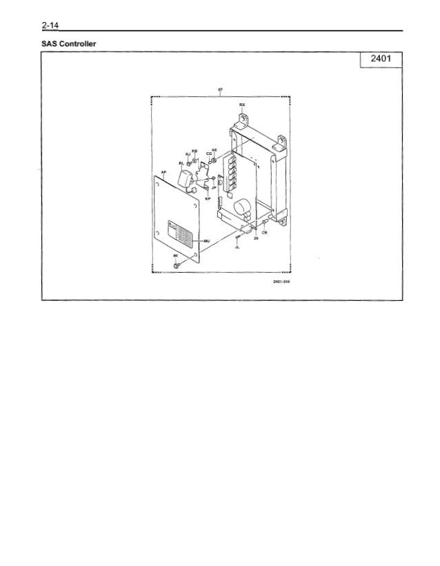 Toyota 30 7 fbchu25 forklift service repair manual