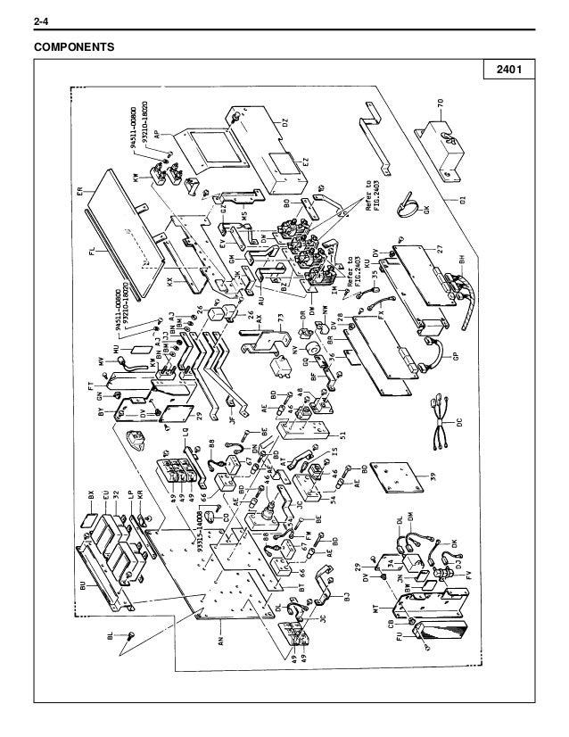 Toyota 5 fb14 forklift service repair manual