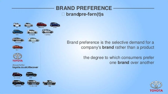 brand preference Free coursework on brand preference from essayukcom, the uk essays company for essay, dissertation and coursework writing.