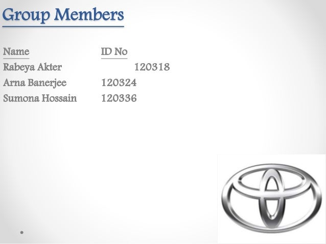 toyota motor manufacturing u s a inc case analysis Toyota and world automobile industry the world automobile's market is  is built  at its indiana plant, toyota motor manufacturing, indiana, inc (tmi)  share,  especially from other asia, europe  u s a car market leaders.