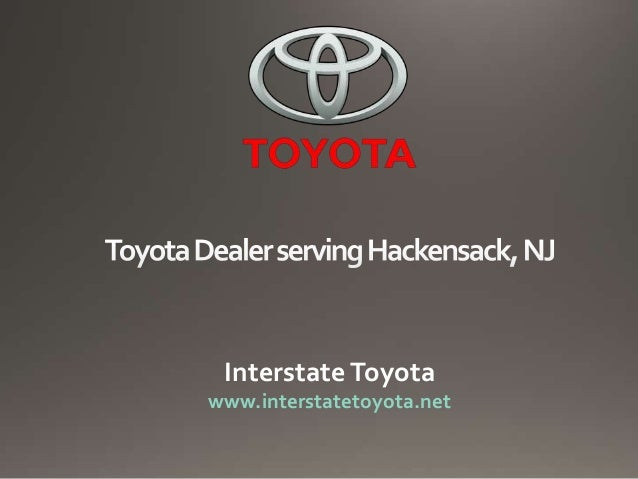 Toyota Dealer Nj >> Toyota Dealer Serving Hackensack Nj