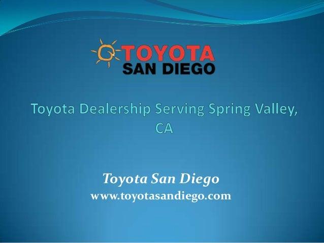 Toyota San Diego www.toyotasandiego.com