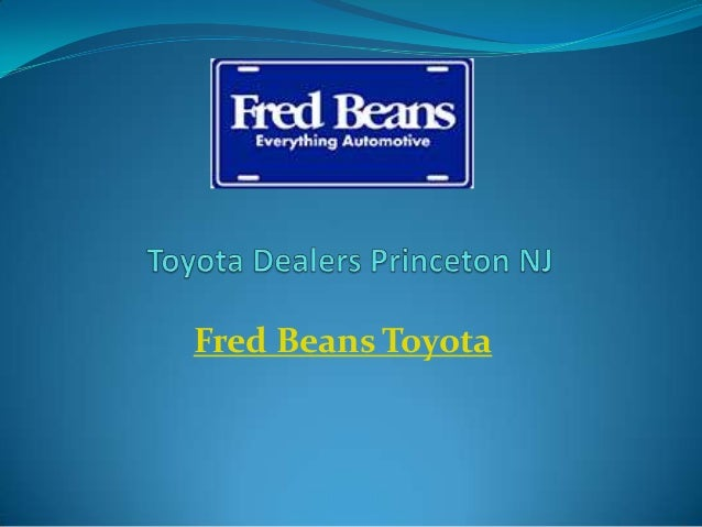 Toyota Dealers Princeton Nj