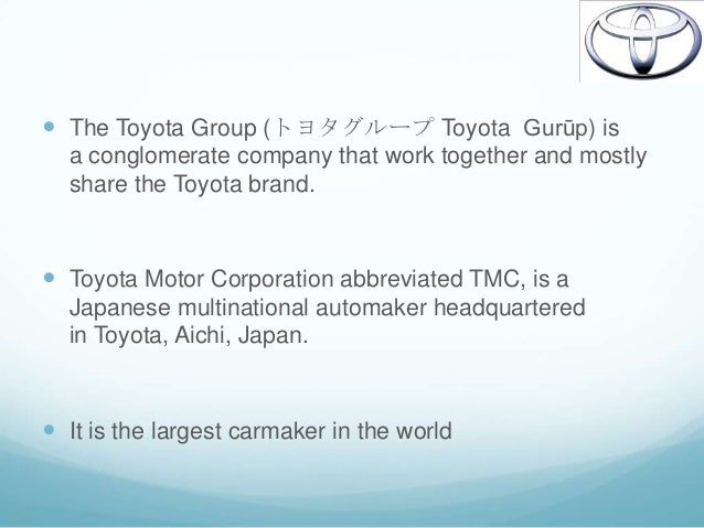 toyota strategic choices essay In order to analyse the toyota's operational and industry generic strategy refers to analyse the company's strategic choice toyota gets a best strategic.