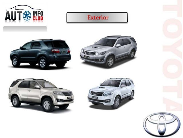 Toyota Fortuner Price Images Amp Specification