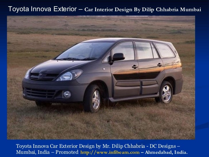 Beautiful ... 7. Toyota Innova Exterior U2013 Car Interior Design ...
