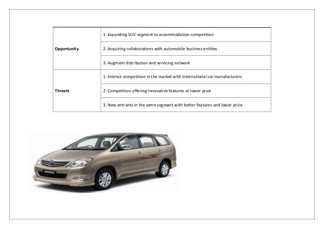 toyota innova targeting position strategy Evaluating market segments is critical to marketing strategy development market segmentation and customer targeting 08142012 / posted in articles, strategy businesses can better position products and services to target their specific customers' needs and desires.