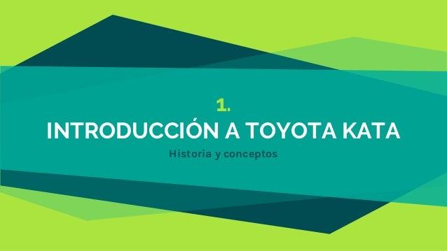 1. INTRODUCCIÓN A TOYOTA KATA Historia y conceptos