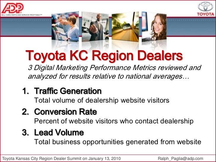 Toyota Kansas City Region Dealer Summit 2010