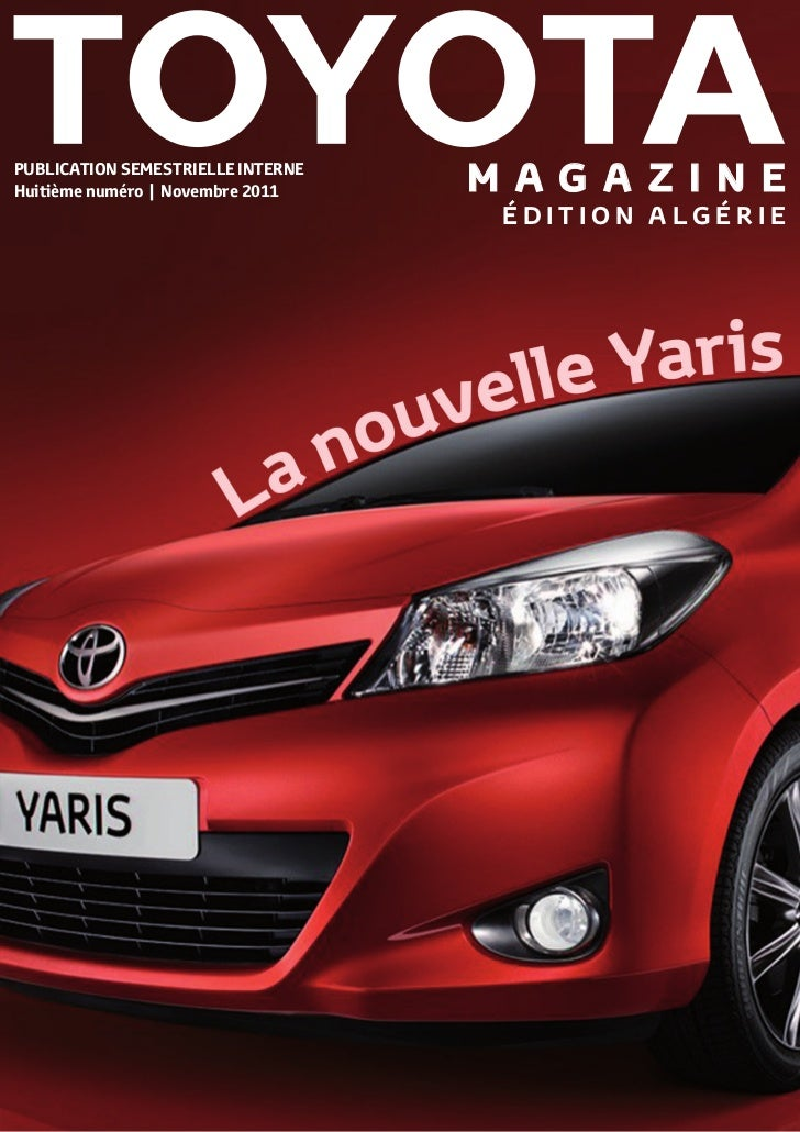 PUBLICATION SEMESTRIELLE INTERNEHuitième numéro | Novembre 2011    M A G A Z I N E                                    ÉDIT...