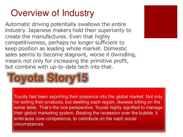 toyota lexus marketing case study This case study describes how one of the world's most successful companies selected an open source solution to replace the core systems at toyota (gb) plc and importer and distributor for toyota and lexus vehicles in the uk, the company is responsible for sales, marketing, after sales and customer relations across its.