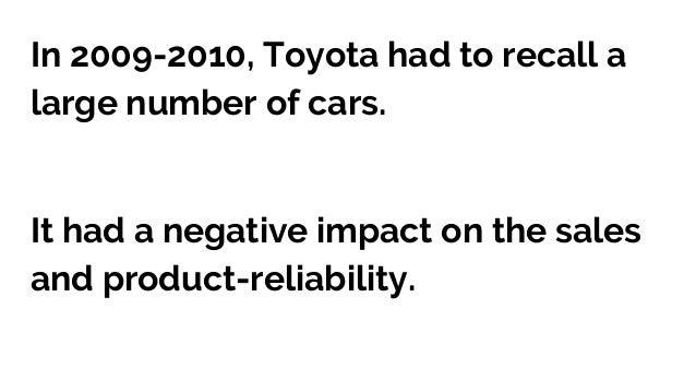 Marketing Analysis of Toyota