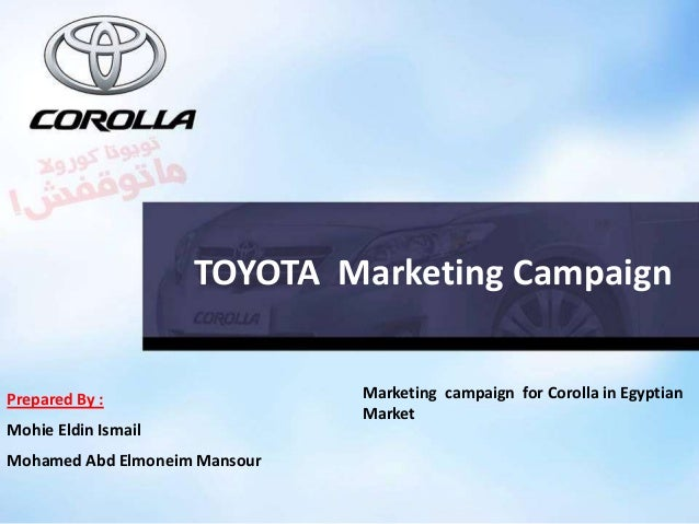 Toyota Marketing Strategy