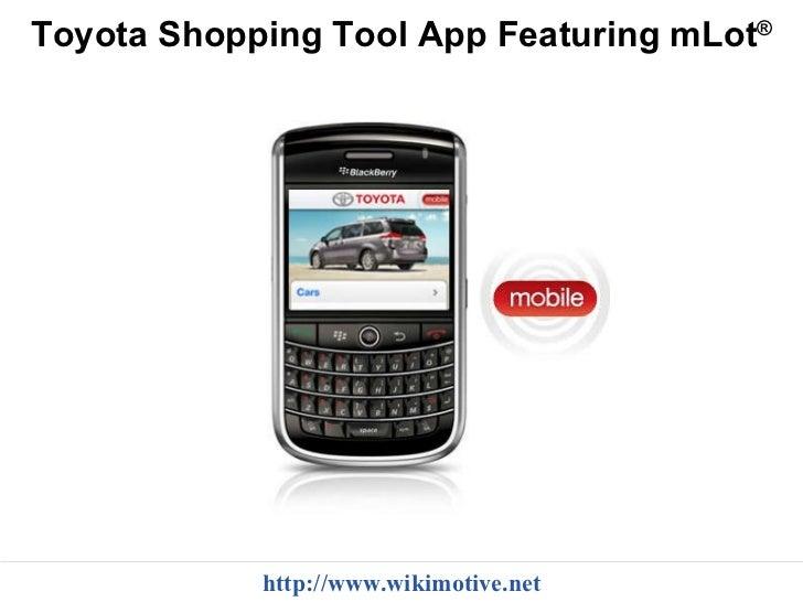 toyota mobile marketing case study