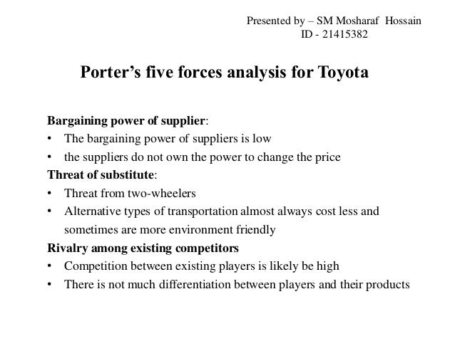 Toyota motor corporation processes and strategies essay