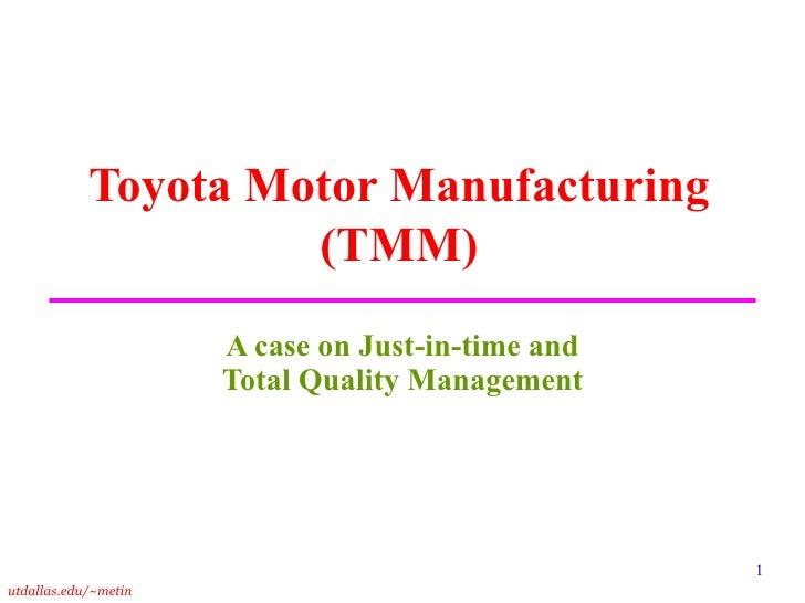 toyota case study analysis essay