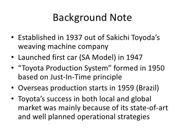 toyota presentation, Presentation templates