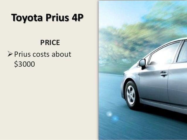 Toyota prius case study answers